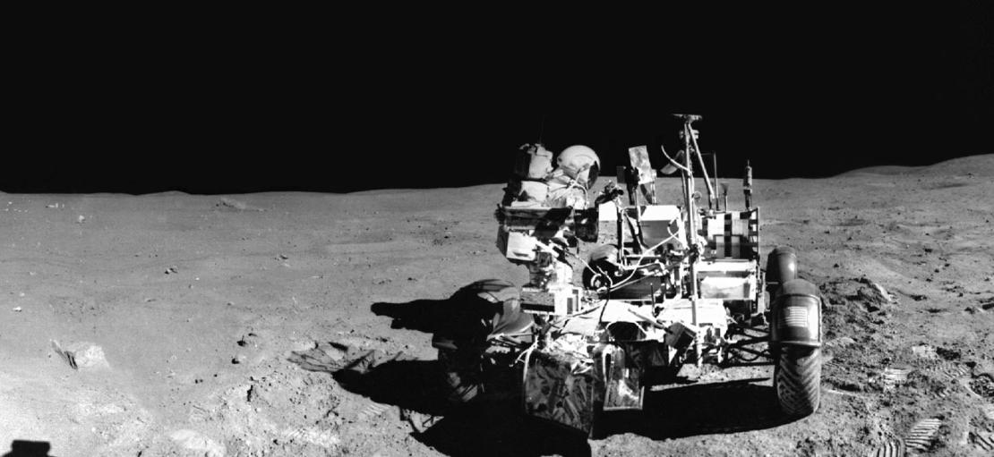 Lunar Rover Panorama