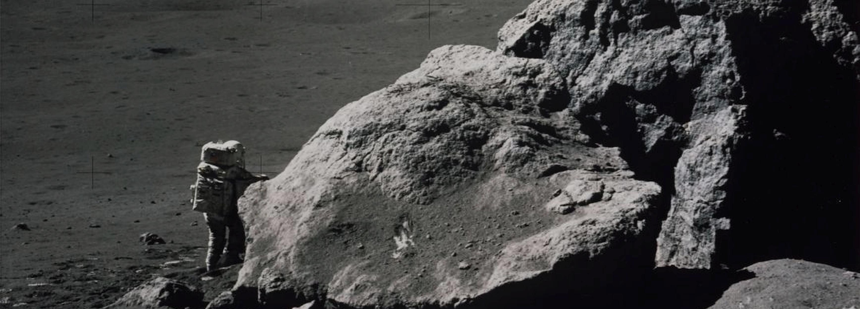 Lunar Panorama Photo
