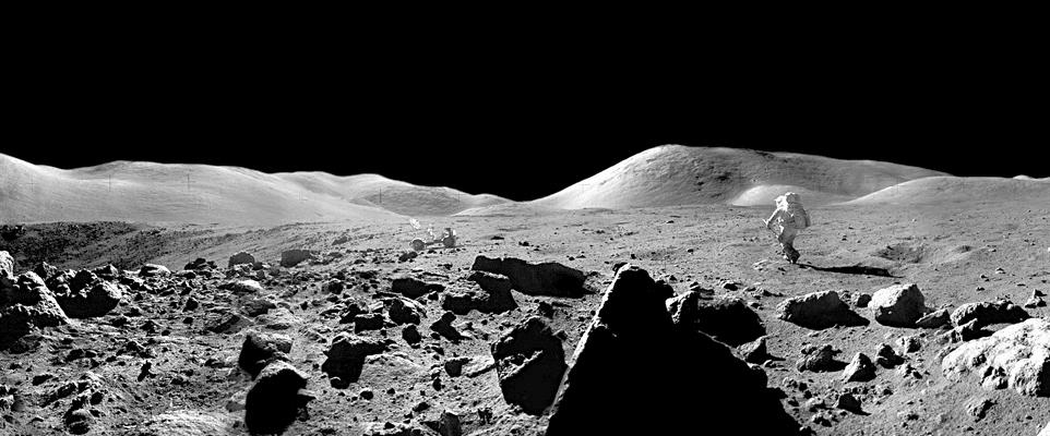 Lunar Landscape (Photo)