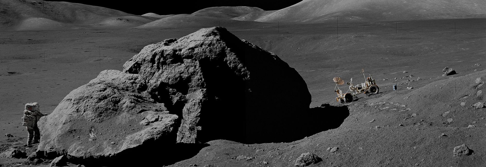 Lunar Rover Panorama (Header Image)