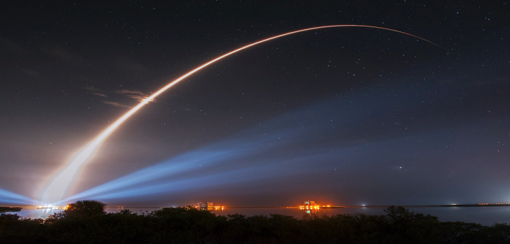 Nighttime Launch (Photo)