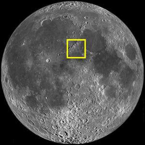 Lacus Felicitatis Location on the Moon (Photo)