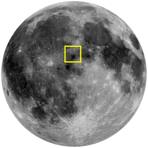 Lacus Felicitatis (Lake of Happiness) location on the Moon (Image)