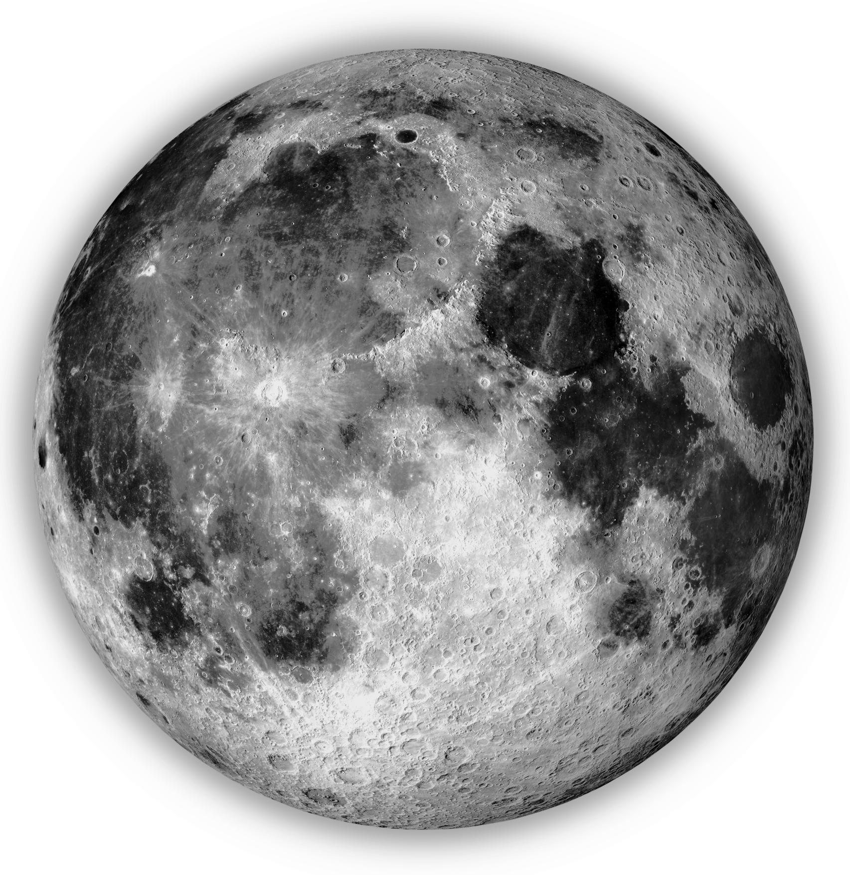 Lunar Real Estate (Moon Property Map)