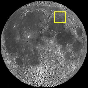 Lake of Dreams (Lacus Somniorum) on the Moon (Image)