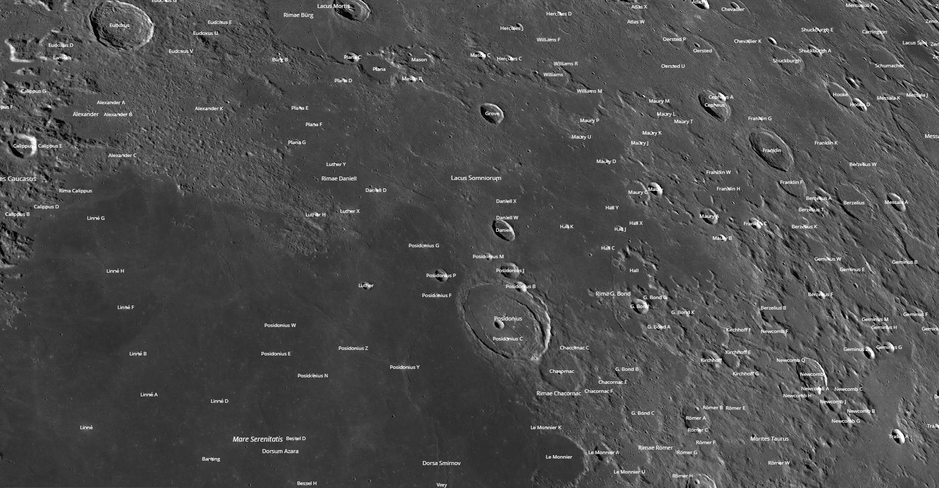 Somniorum Region Photo Map
