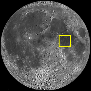 Sea of Tranquility (Mare Tranquillitatis) Location on the Moon (Image)