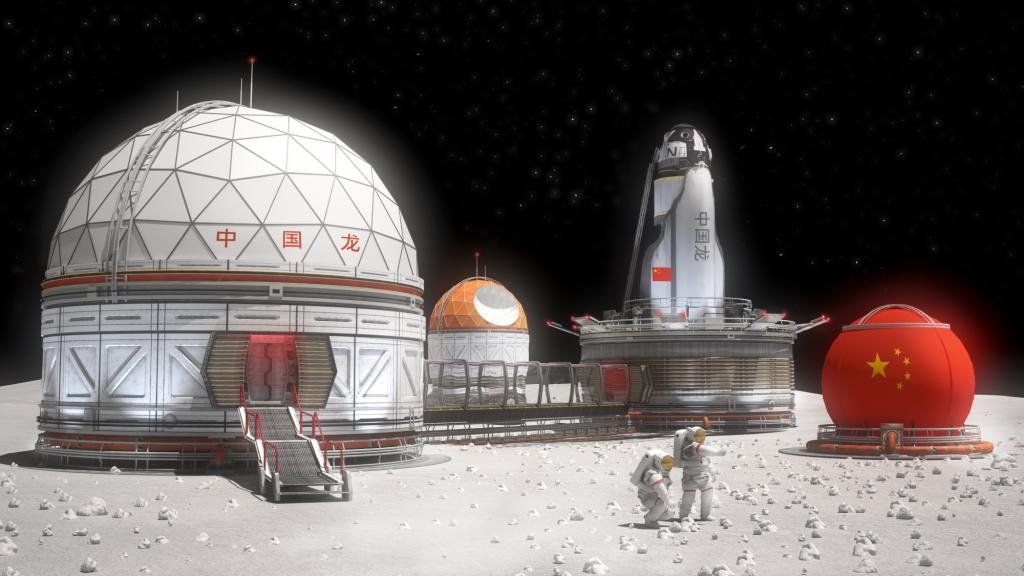 China Moon Base (Image)