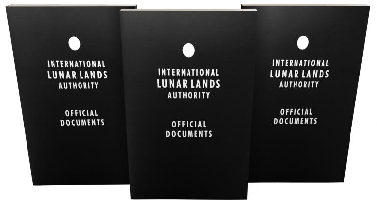 Moon Land Deed Documents (Image)