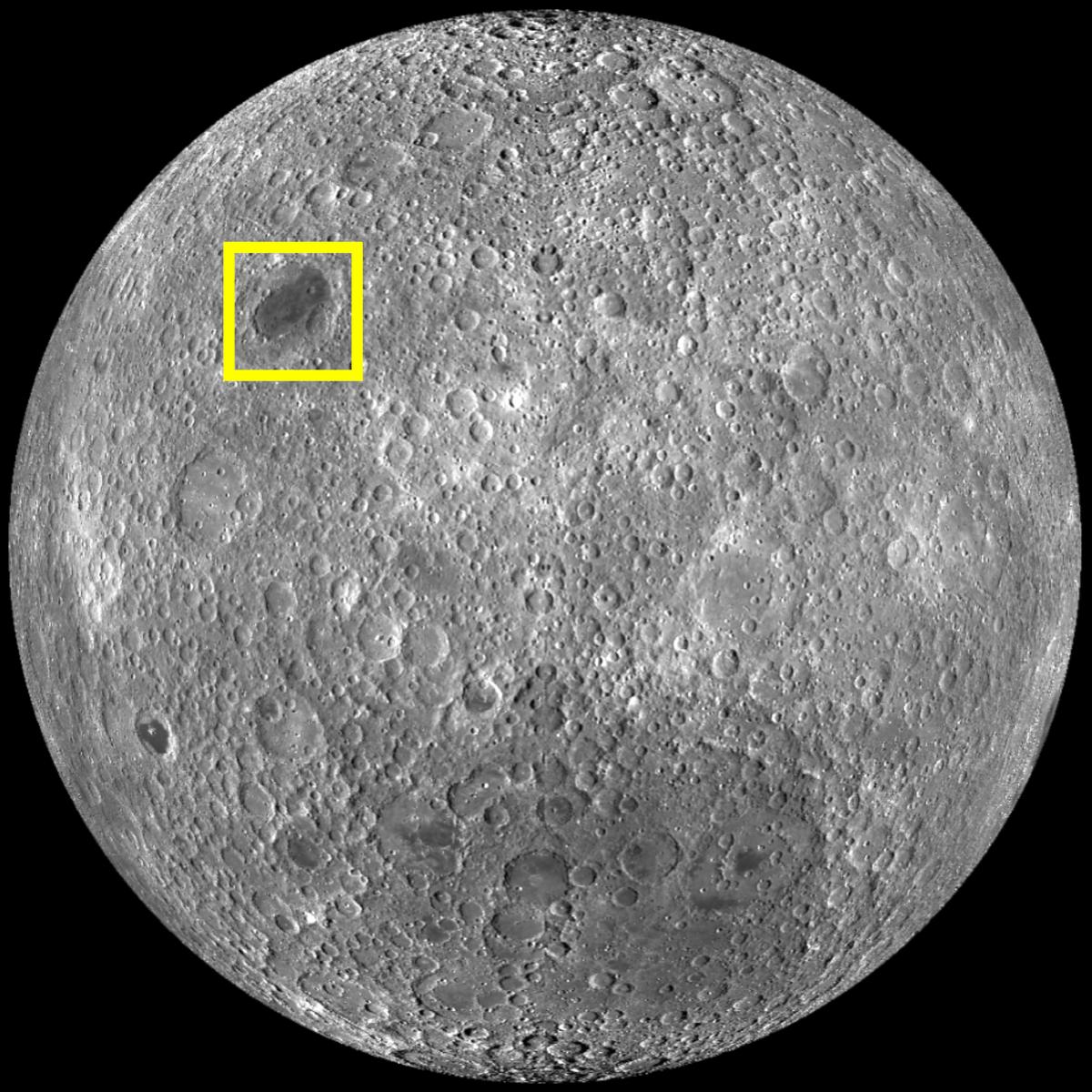 Moon Locations (Moscoviense Far Side)