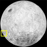 Moon Far Side Location (Mare Orientale)